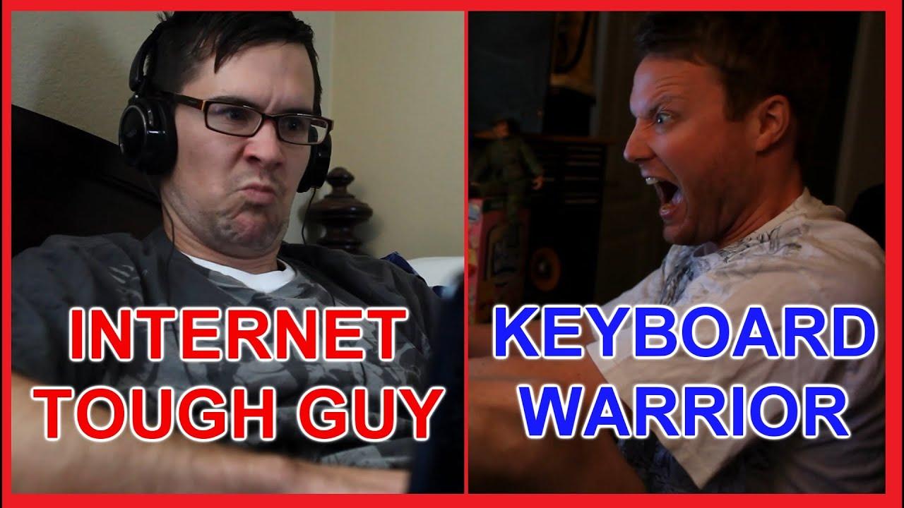 Internet Tough Guy vs. Keyboard Warrior - YouTube