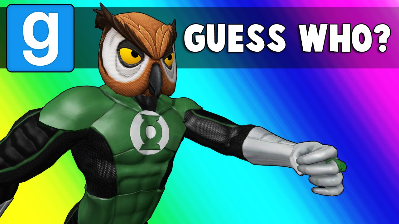 Gmod Guess Who: Superhero Edition - Sudoku! (Garry's Mod Funny Moments)
