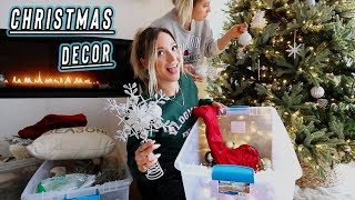 decorating for christmas + my vlog setup!! vlogmas day 1