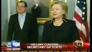 THE TOP 10 AND BEST COMMENTS / MOMENTS OF SECRETARY OF STATE HILLARY CLINTON IN 2009
