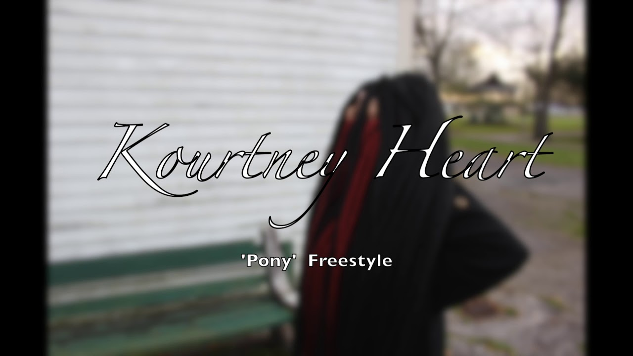Kourtney Heart - 'PONY' Cover