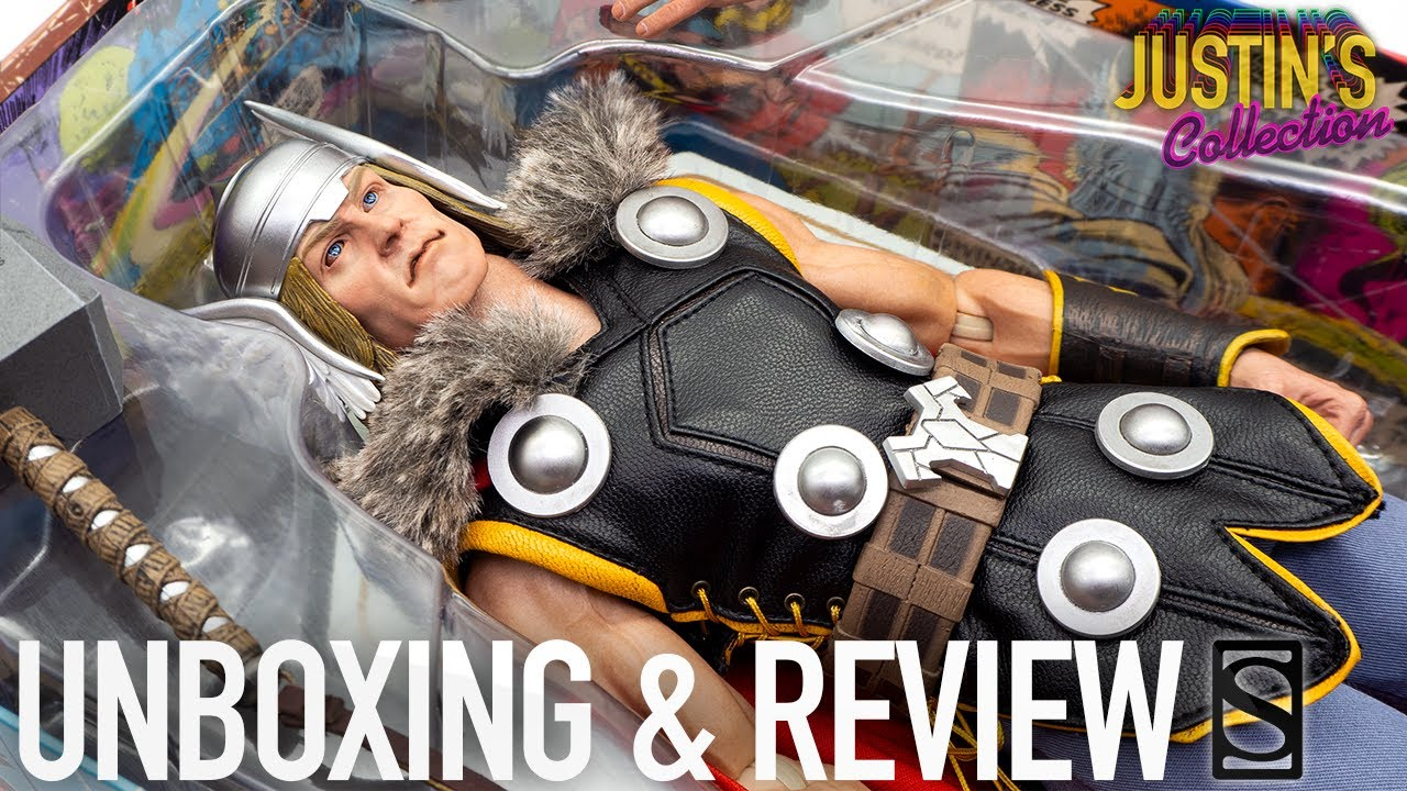 Thor Avengers Marvel Comics Sideshow Collectibles Unboxing & Review