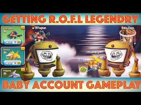 Monster Legends RPG   Mythology Maze Island (Baby Account Gameplay Progress)