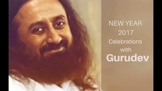 Медитация с Шри Шри Рави Шанкаром на Новый 2017 год (5 мин.)