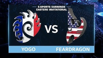 StarCraft 2 - YoGo vs. Feardragon (ZvP) - EsportsEarnings Casters Invitational - Group D Match #2