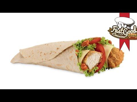 Recette Mcdo : McWrap poulet tabasco