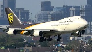 10 AWESOME Boeing 747 Landings | Sydney Airport Plane Spotting