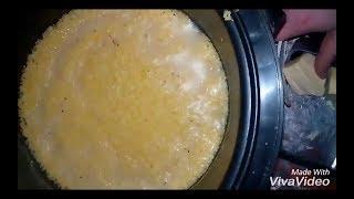 Кукурузная каша с маслом в мультиварке