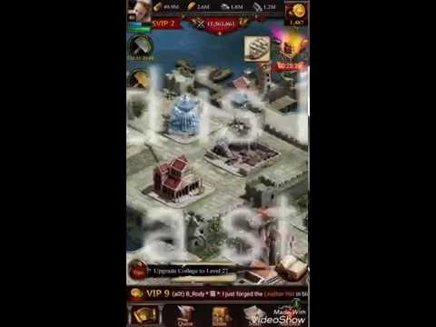 Clash Of Kings Buildings Setup | CoK Tutorial - Buildings Choice | CoK How To Build Your Castle