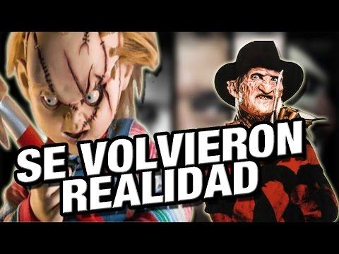 PELICULAS DE TERROR QUE SE VOLVIERON REALIDAD | Ft. Top Claudi