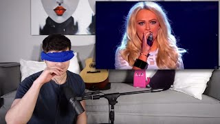 Blinded Vocal Coach Reacts to The Voice (Fastest Chair Turns)