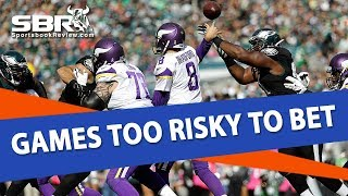 Games Too Risky To Bet | NFL Picks | With Joe Duffy & Troy West