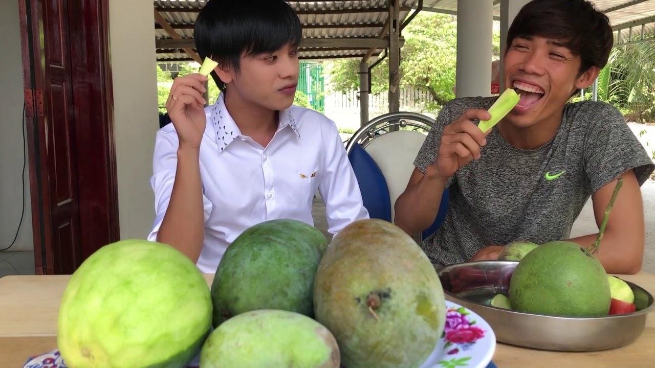 Xoài ăn cắp-Bùi Vĩnh Phúc không có show hát ở nhà ăn xoài-HOT BOY KẸO KÉO Review tập 1