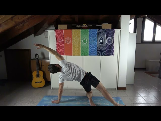 Anukalana yoga, lezione di prova completa