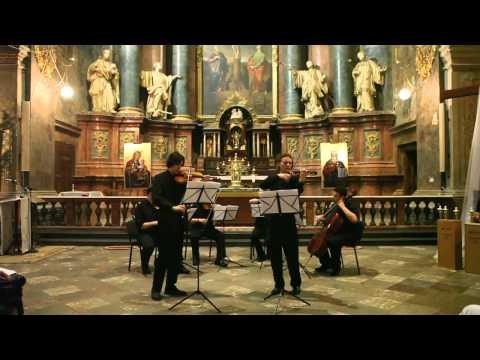 J. S. Bach - Double concerto 2/3 - Smovzh, Zavgorodnii, Phoenix String Quartet