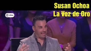 SUSAN OCHOA hace de Shakira En el  Artista del Año ❤️ 08.06.19