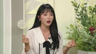 아침마당 - 홍진영의 트레이드 마크 '윙크' 노력의 산물이다! 20180213
