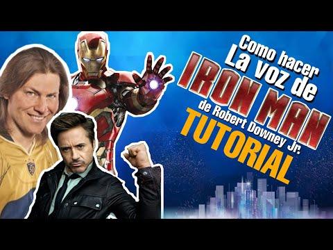Como Hacer La Voz De Tony Stark | IRONMAN / Idzy Dutkiewicz Y Sus Voces