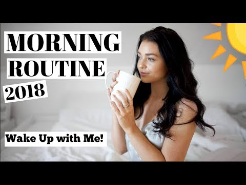 My Morning Routine! 2018   Wake Up With Me