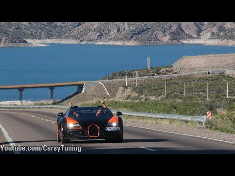 Bugatti Grand Tour Day 1 - From Santiago, Portillo to Argentina!