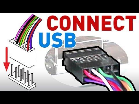 hook up front panel connectors
