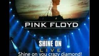 Shine on you crazy diamond part 4-6 lyrics
