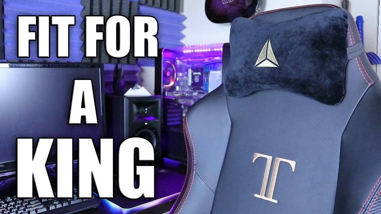 Gaming Stoel Goedkoop : A pc gaming chair for a king secret lab titan review youtube