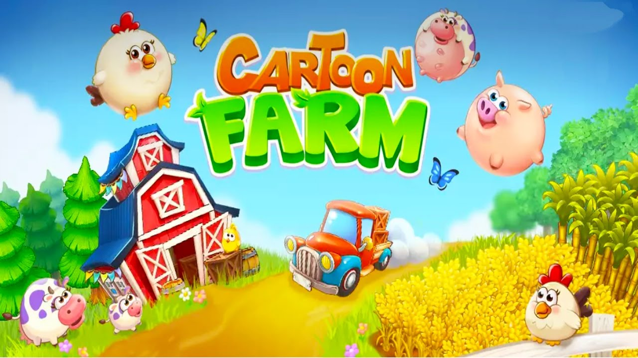Cartoon Farm Android Gameplay u1d34u1d30