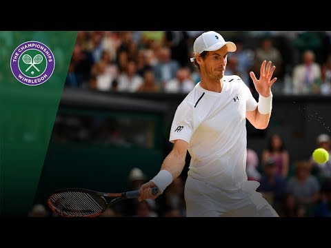 Andy Murray v Benoit Paire highlights - Wimbledon 2017 fourth round