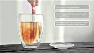 How To Use A Tasty Tea Stick, Virtually Drip Free!