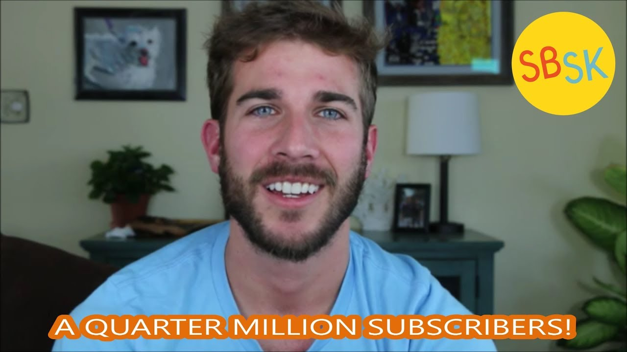 THANK YOU, THANK YOU, THANK YOU (Quarter Million Subscribers)