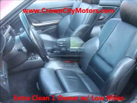Used BMW 330Ci Convertible for Sale in Pasadena, CA www.CrownCityMotors.com