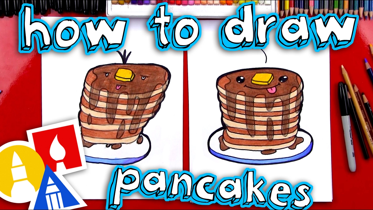 How to draw pancakes youtube how to draw pancakes ccuart Images