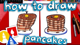 pancakes drawing lesson