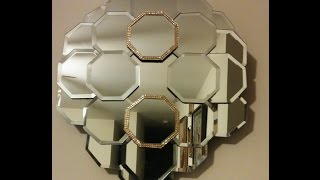 DIY Dollar Tree Panel Wall Mirror