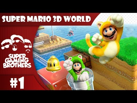 SGB Play: Super Mario 3D World - Part 1 | By The Power Of Cats!