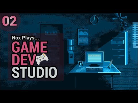 Nox Plays... Game Dev Studio (Let's Play/Gameplay) | Ep. 2: Bankruptcy?!