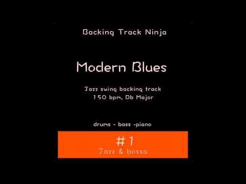 Modern Blues Backing Track In Db Major [150bpm] HIGH QUALITY
