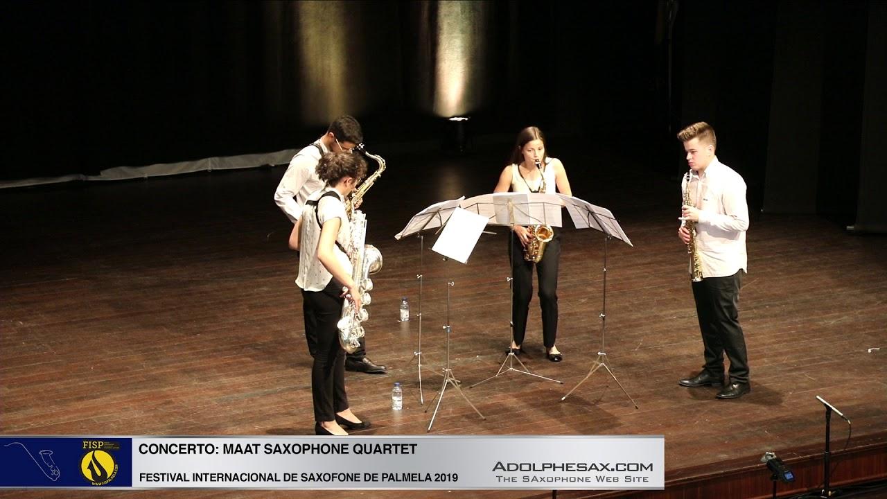 FISPalmela 2019 - Maat Sax Quartet - Quarteto by Nuno Lobo