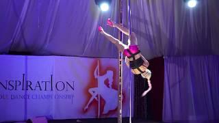 Maria Lisafina. Inspiration Pole-dance Championship 2017, Kiyv, 30/09/2017