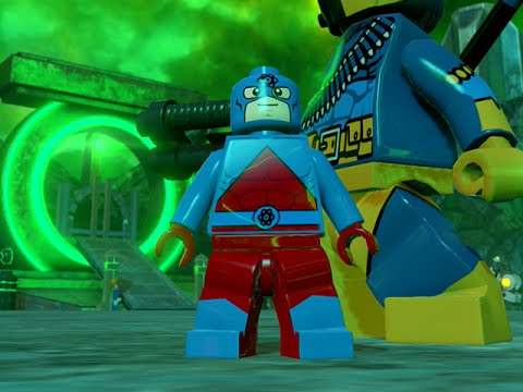 LEGO BATMAN 3 - The Atom FREE ROAM GAMEPLAY - YouTube