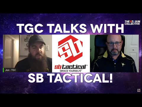 Pistol Brace Creator Talks w/The Gun Collective about ATF Flip Flopping