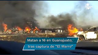 """Expertos en Seguridad Nacional explican que a pesar de la detención de El Marro, """"la guerra aún no termina"""" y la organización liderada por Nemesio Oseguera Cervantes, """"El Mencho"""", no se quedó como """"el dueño"""" absoluto de Guanajuato"""