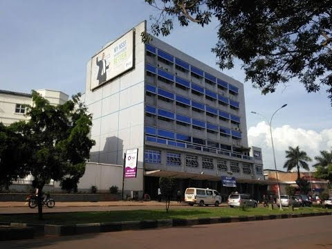 Kampala City Drive -  December 2014