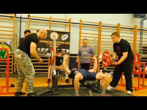 GPA Državno prvenstvo u powerliftingu, Bjelovar 10.04.2016.g. - Bench press