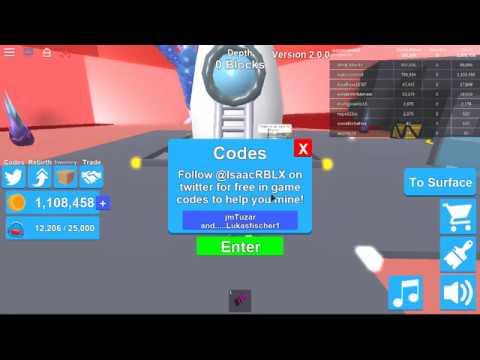 roblox drilling simulator codes