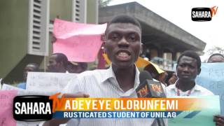 Rusticated Student Of UNILAG Blasts Vice Chancellor, Other Professors