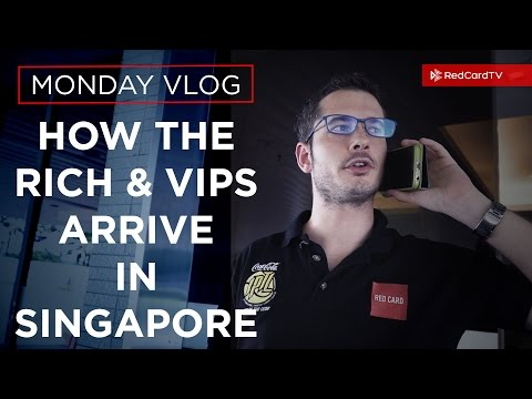 How The Rich And Famous Arrive In Singapore | Andy Penders