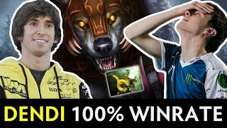 Dendi 100% win rate vs Miracle on FPL — Ursa Pipe new meta?