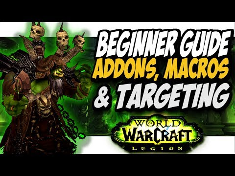 Addons Macros And Targeting For Beginners!! Bm Hunter WoW Legion 7.2.5